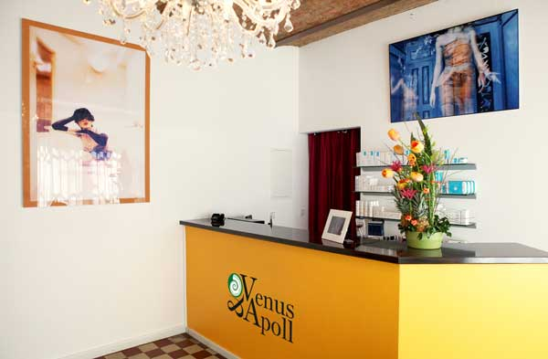 At Venus & Apoll Cosmetics in Berlin Kreuzberg you will immediately feel well and relaxed